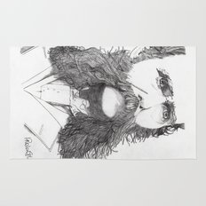Moustache Rug