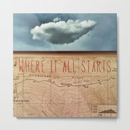 Which One To Follow (Where It All Starts) Metal Print