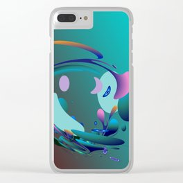 Power and positive energy, 10 Clear iPhone Case