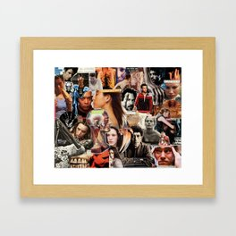 Take your best shot. Framed Art Print