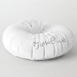 Tessa & Will Floor Pillow