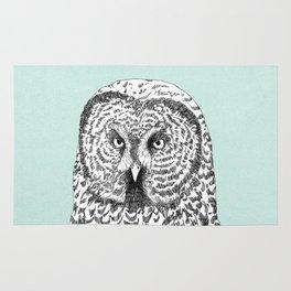 Gray Owl Rug