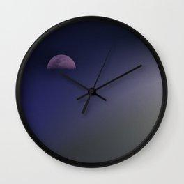 Sail Away Moon Wall Clock