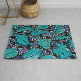 """Gustav Klimt """"Johanna Perennial"""" texture Rug"""