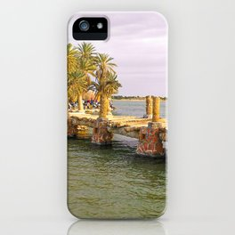 Taghaghien Island in Siwa, Egypt iPhone Case