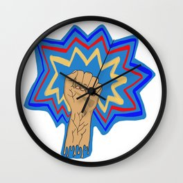 Comic Punch Wall Clock