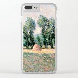 Haystacks Clear iPhone Case