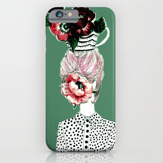 Tea Girl iPhone & iPod Case