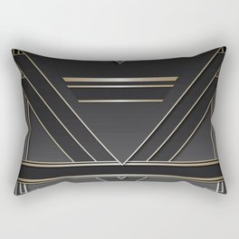 Art deco design IV Rectangular Pillow
