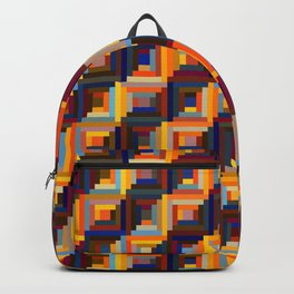 Colorful network Backpack
