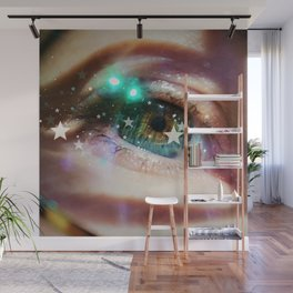 Sparkles in Her Eyes Wall Mural