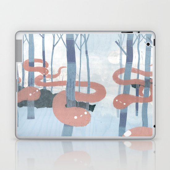 Snakes in the Forest Laptop & iPad Skin