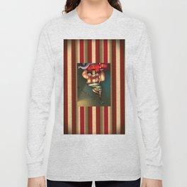 Circus Strongman Long Sleeve T-shirt