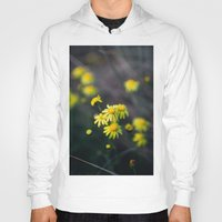 daisies Hoodies featuring Daisies by Ellen Richardson