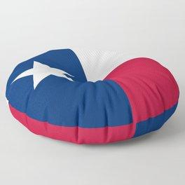Texas Flag Floor Pillow