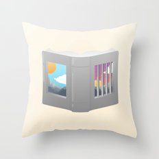 Another Way to Be Free Throw Pillow