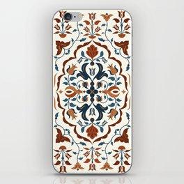 Turkish Floral Pattern iPhone Skin