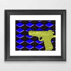 Peace Be With You #1 Framed Art Print