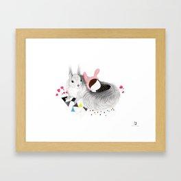 The Squirrel Framed Art Print