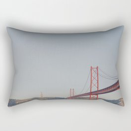 Across the Bridge Rectangular Pillow