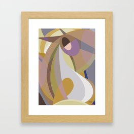 Shapes of Bob Framed Art Print