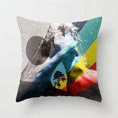 Love ve love love... Throw Pillow