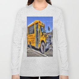 American School Bus Long Sleeve T-shirt
