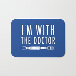 I'm with The Doctor Bath Mat