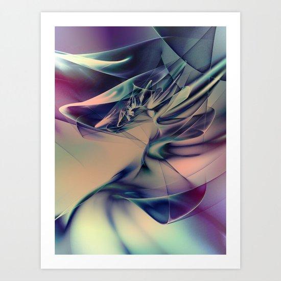 Veildance #3 Art Print