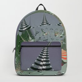 An abstract Christmas tree dream Backpack