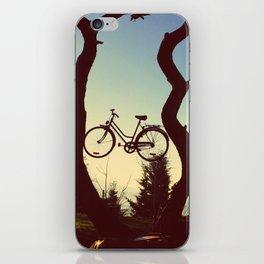 Bicycle Tree iPhone Skin