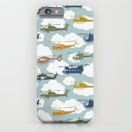 Kids Room Helicopters iPhone Case