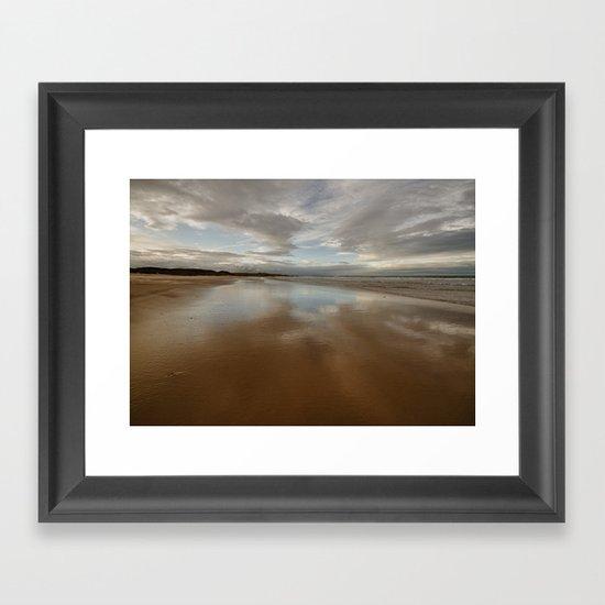 Bamburgh Beach Framed Art Print