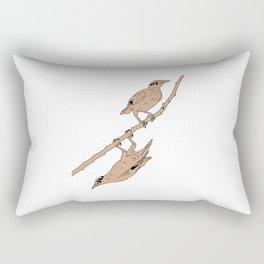 Birds on the tree Rectangular Pillow