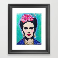 Frida Kahlo by Paola Gonzalez Framed Art Print