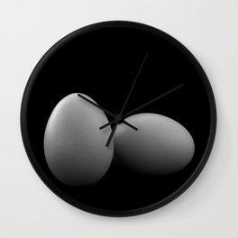 Egg Play Wall Clock