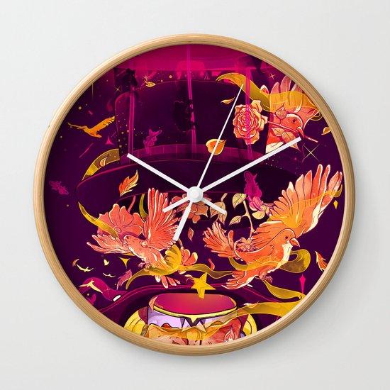 Magic Tricks Wall Clock