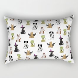 Howl-o-ween Rectangular Pillow