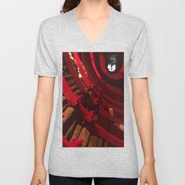U-Turn. Fashion Textures Unisex V-Neck