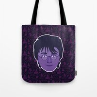 harry Tote Bags featuring Harry by Kuki