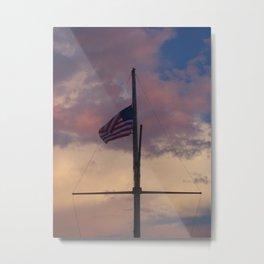 Oh Beautiful, for Spacious Skies Metal Print