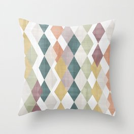 Rhombuses 2 Throw Pillow
