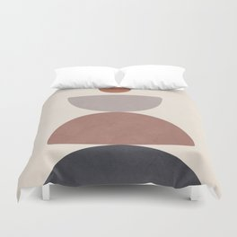Balancing Elements III Duvet Cover