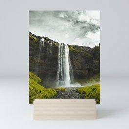 Art Print-Seljalandsfoss Waterfall, Iceland Mini Art Print