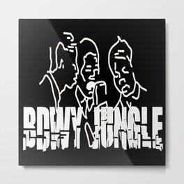 Singing Reggae - Bdwy Jungle Metal Print