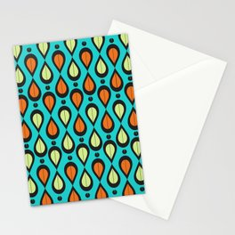 Dance With Me Mid-Century Modern Design Stationery Cards