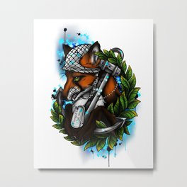 Forged by the Sea Metal Print