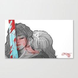 My Knight Canvas Print