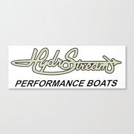 Hydrostream Boats Canvas Print