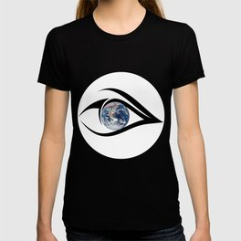 The planet on which we live can see everything T-shirt
